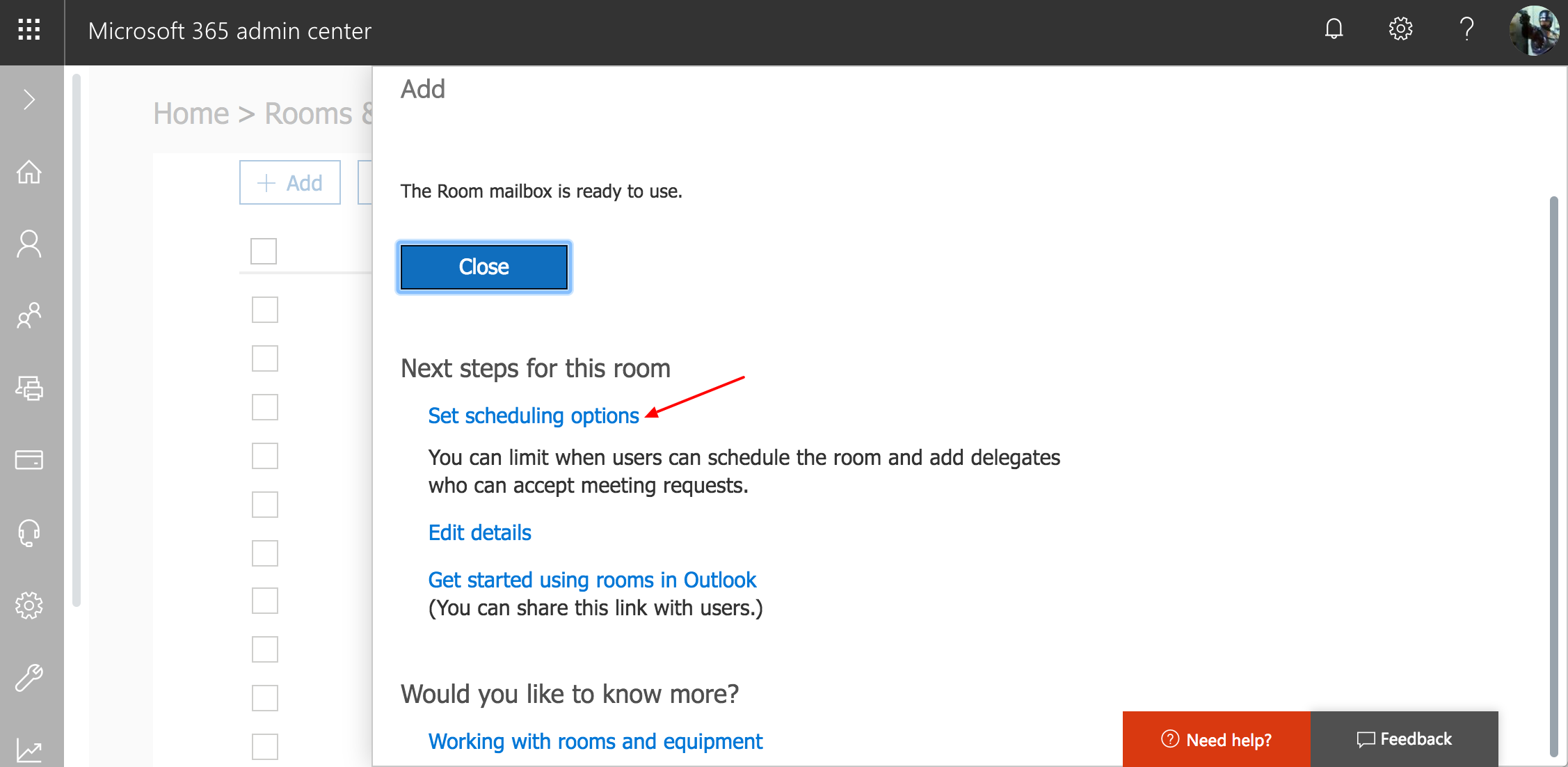 Create meeting room calendars in Office 365 – Robin Help Center